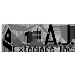 Official Company Logo of AJ Exteriors